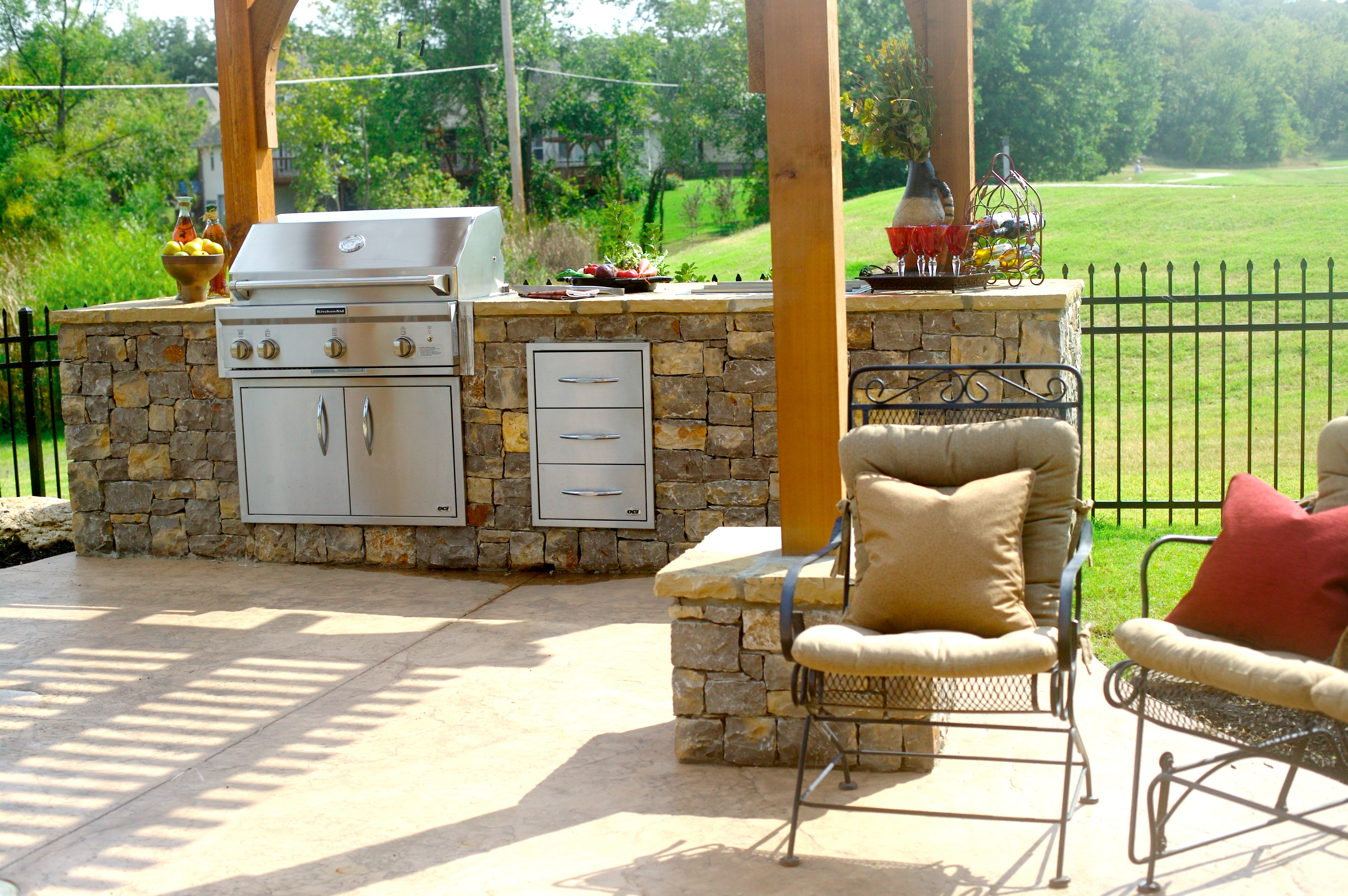 Tailgating Upgrade: Stylish Outdoor Kitchens for this