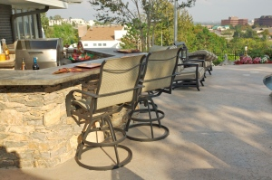 outdoor kitchen bar tulsa