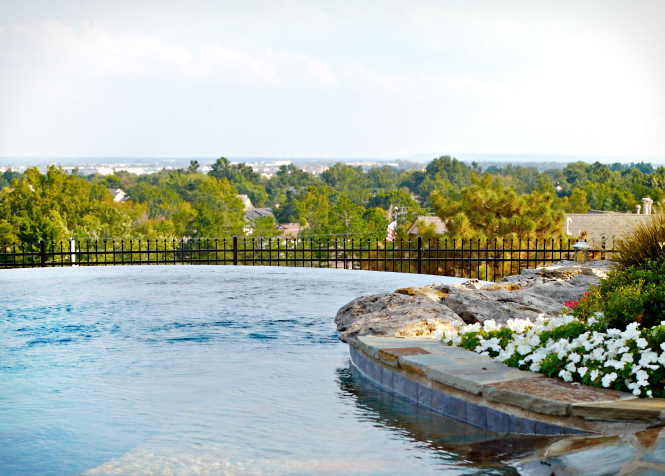 Top swimming pool designs around the world tulsa pool for Pool design okc