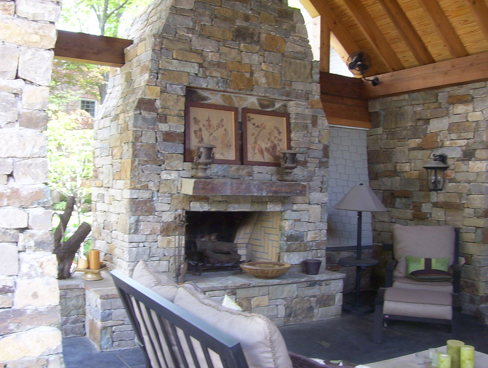 Outdoor Fireplace And Fire Pits In Tulsa