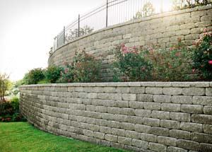 retaining wall tulsa