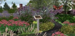 butterfly garden tulsa landscaping