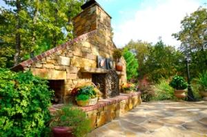 tulsa outdoor fireplaces