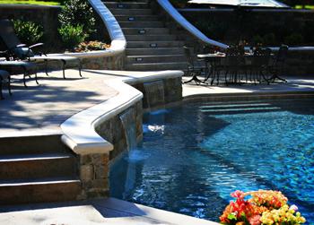 Oklahoma Landscape Find Yourself Outside Tulsa Pool Design Ideas Salt Water Pools Vs