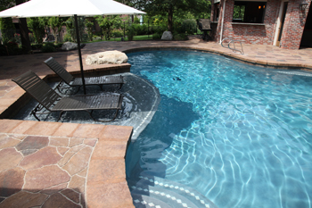 Oklahoma landscape find yourself outside tulsa pool - Swimming pool contractors oklahoma city ...